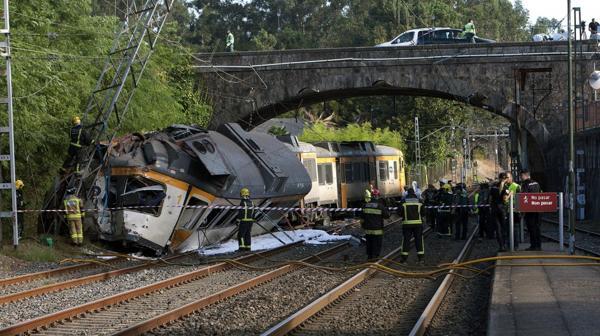 El accidente se produjo en la localidad española de O Porriño, Pontevedra (EFE)
