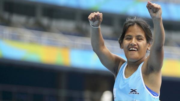 Yanina Andrea Martínez buscará repetir en los 200 metros (Reuters)