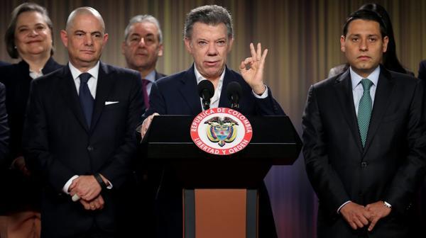 Juan Manuel Santos destacó que no hubo víctimas durante el cese del fuego con las FARC (EFE)