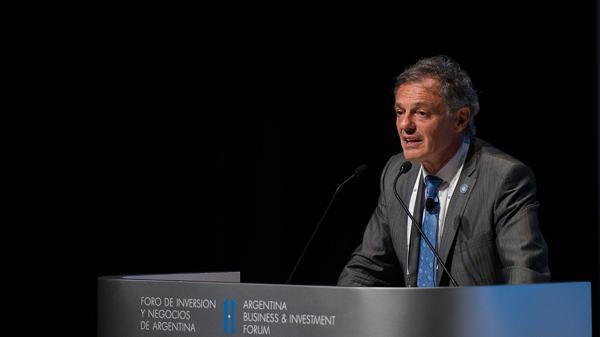 El ministro de Producción, Francisco Cabrera (Adrián Escandar)