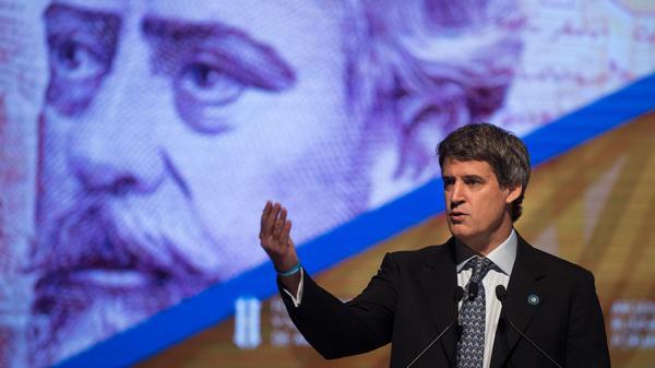 El ministro de Economía, Alfonso Prat Gay (Adrián Escandar)