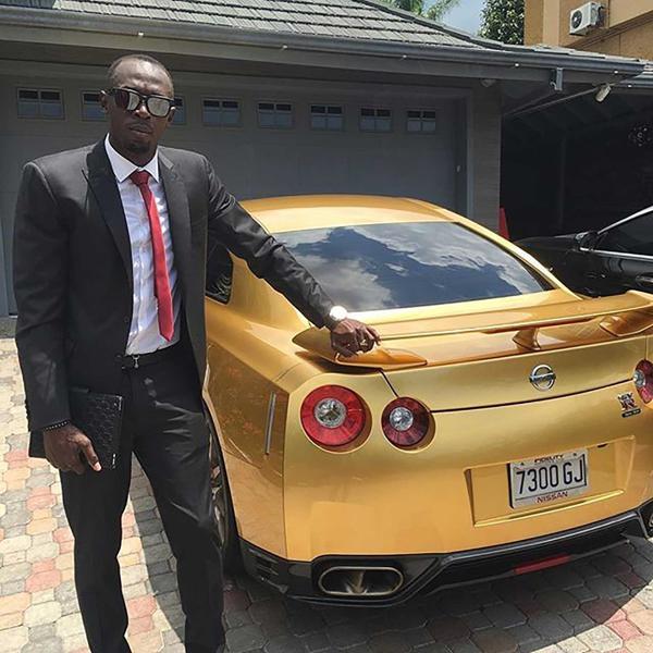 Así es el auto de Usain Bolt