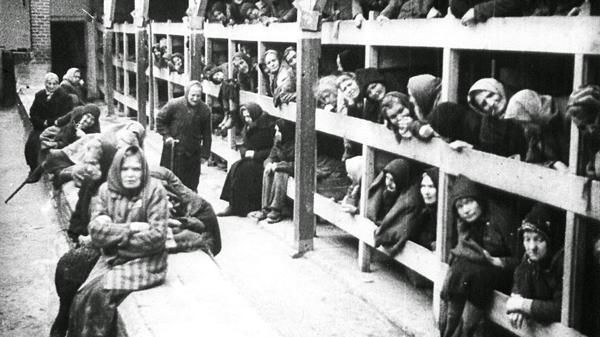 Así dormían los judíos en los campos de concentración. (Archivo)