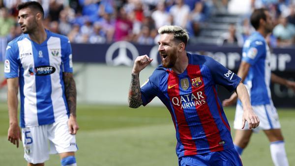 Lionel Messi ocupa el octavo puestocon USD 81,5 (EFE)