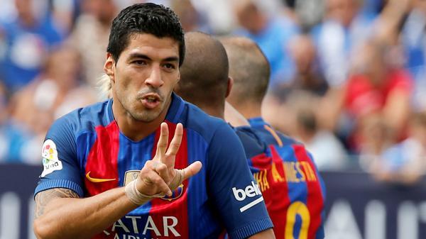 Luis Suárez ganó la Bota de Oro la última temporada (Reuters)
