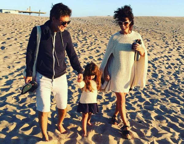 Adriány Griseldael verano pasado en sus clásicas vacaciones en Punta del Este, con Margarita