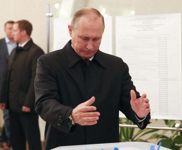 Vladimir Putin, presidente ruso y principal sostén de Al Assad en Siria (AP)