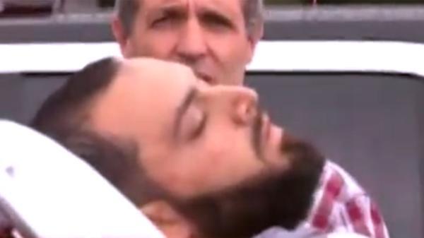 Rahami fue trasladado herido tras su captura.