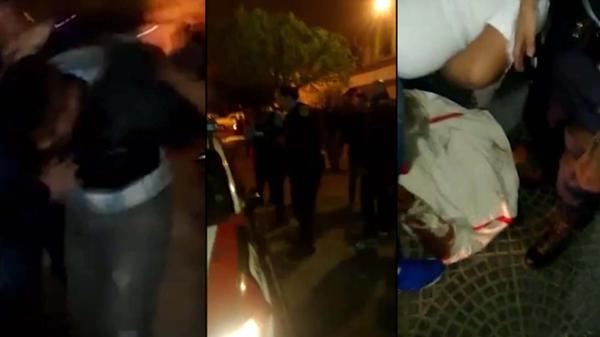 Dos motochorros quedaron inconscientes por los golpes de un taxista que los persiguió y vecinos que se sumaron a la golpiza