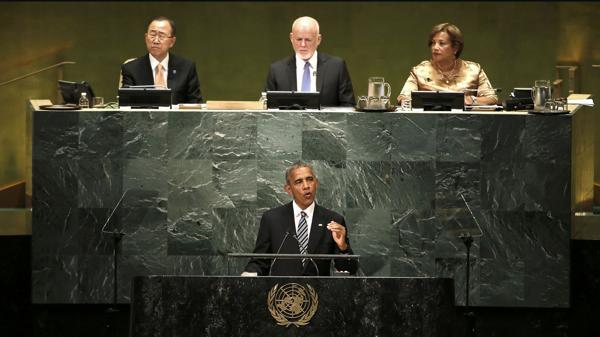Barack Obama, en su última Asamblea General de las Naciones Unidas como presidente de Estados Unidos (Reuters)