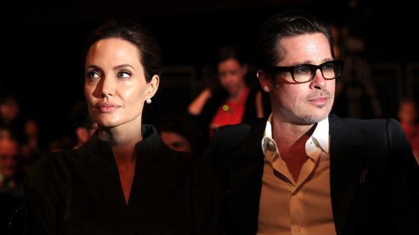 Las declaraciones de Angelina Jolie y Brad Pitt tras la separación (AFP)