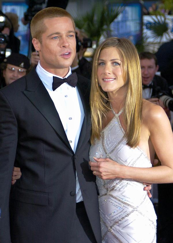 Brad Pitt Jennifer Aniston, tiempos felices