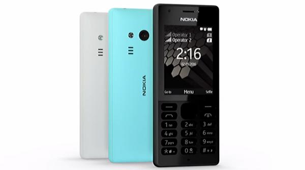 Así luce el Nokia 216, un modelo básico de 37 dólares