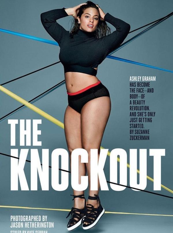 Portada de la la revista fitness femenina 'SELF' con una entrevista exclusiva a la modelo