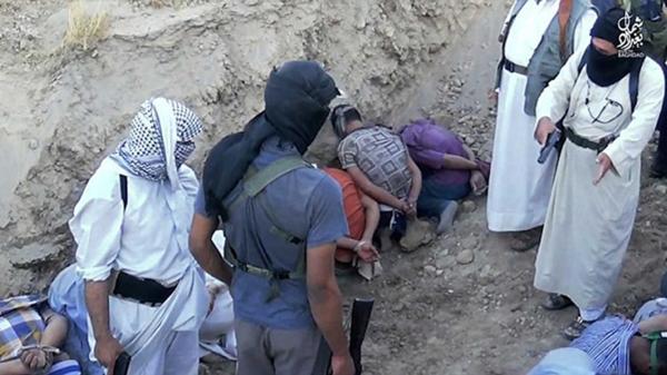 Las víctimas fueron ejecutadas en fosas comunes