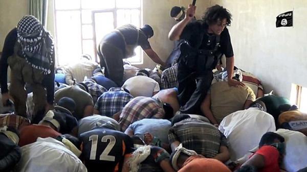 Antes de asesinarlos, los terroristas interrogaron y golpearon a los chiitas