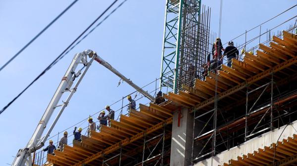 El empleo en la construcción no repuntará en el comienzo del año. (Reuters)