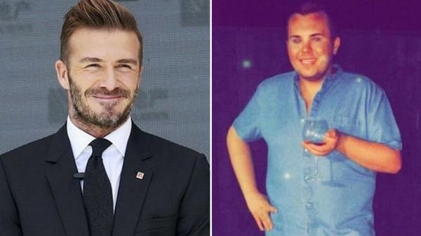 El joven asegura que a ninguna persona en el mundo le parece feo David Beckham