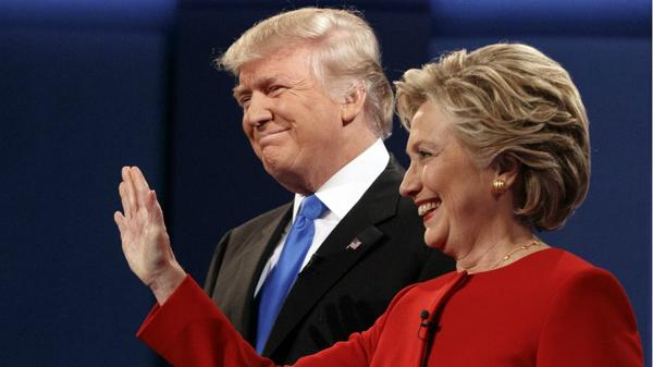 Donald Trump y Hillary Clinton se enfrentaron en el primer debate presidencial de cara a las elecciones de noviembre (AP)