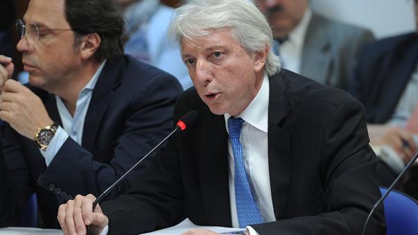 El vicecanciller Carlos Foradori