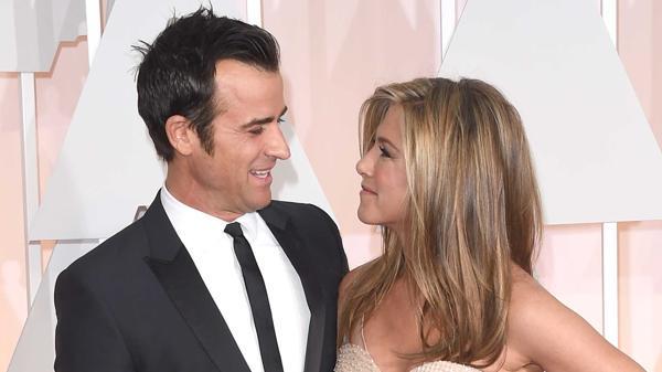 Justin Theroux y Jennifer Aniston se casaron el año pasado (Getty Images)