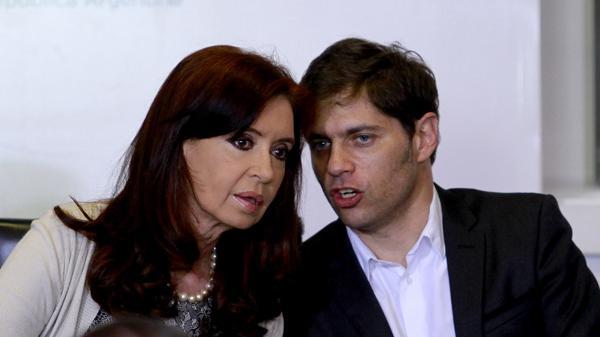Cristina Elisabeth Kirchner y Axel Kiciloff (DYN)