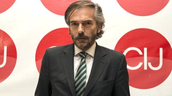 El juez Gustavo Hornos (www.cij.gov.ar)