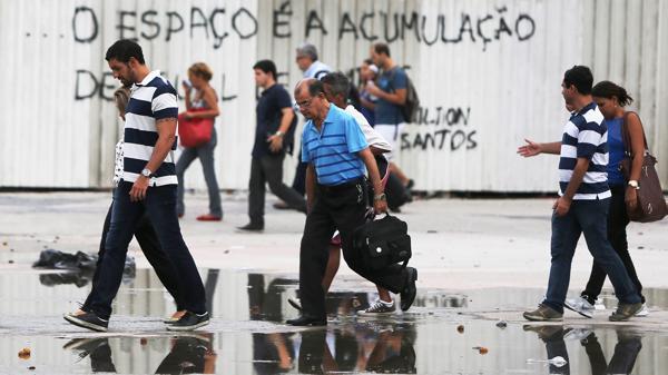 Brasil : El desempleo volvió a subir y ya afecta a más de 12 millones de personas