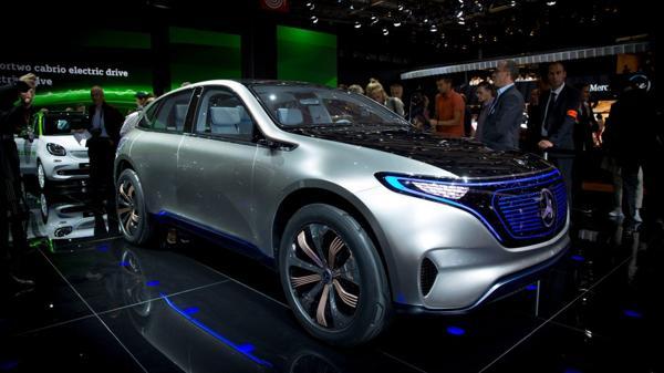 El concept car de la firma de la estrella se acaba de presentar en el Salón del Automóvil de París
