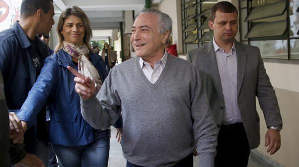 El presidente Michel Temer avanza a toda marcha con su plan de ajuste fiscal (EFE)