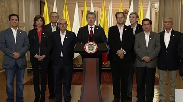 """Juan Manuel Santos, tras el rechazo al acuerdo con las FARC: """"Seguiré buscando la paz hasta el último minuto de mi mandato"""""""