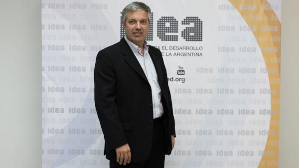 """Ignacio Stegmann: """"Tenemos un presupuesto real, no un dibujo"""". (Adrián Escandar)"""