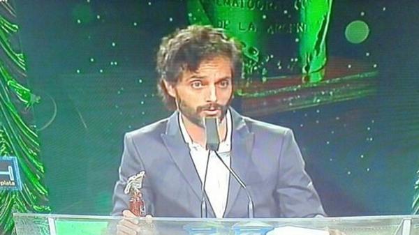 Joaquín Furriel, premiado como Mejor Actor
