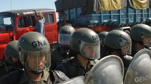 En la Argentina hay 37000 gendarmes. Son la fuerza de seguridad más numerosa del país (NA)