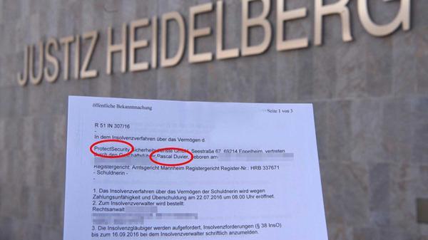 Este es el documento en el que declara su compañía en bancarrota total (Infobae)