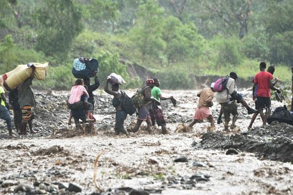 En Haití, el huarcán causó la mayor crisis humanitaria desde el terremoto del 2010 (AFP)