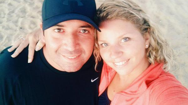 Darío Otazúa había viajado a Chile con su esposa, Daniela García