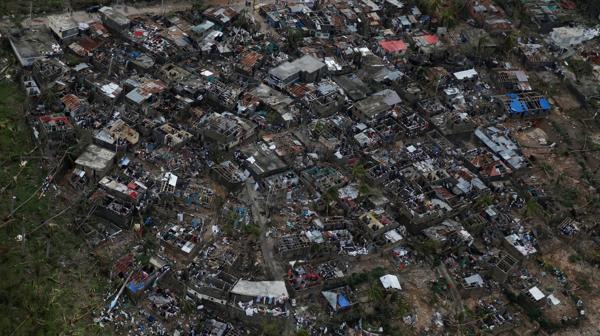 La destrucción fue casi total en Haití (Reuters)