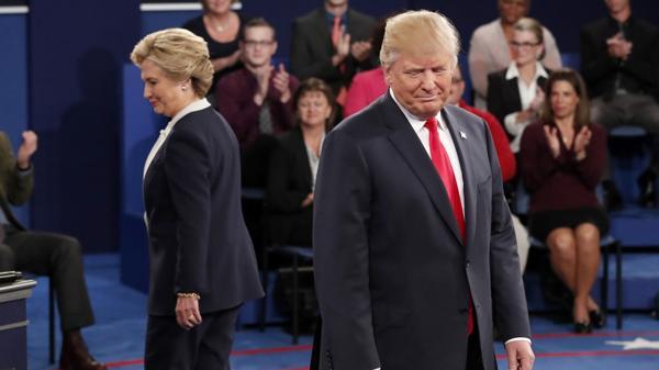 Hillary Clinton y Donald Trump, candidatos a presidente de EEUU (AP)