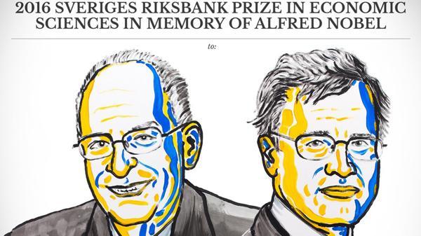 Oliver Hart y Bengt Holmström fueron galardonados con el premio Nobel de Economía