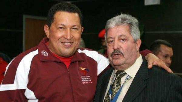 Hugo Chávez junto a Rafael Esquivel (EFE)