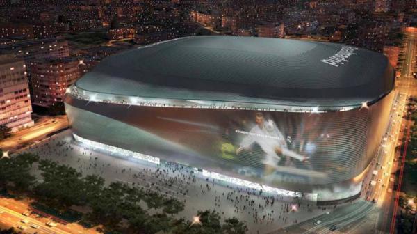 El Real Madrid presentó el nuevo estadio Santiago Bernabéu
