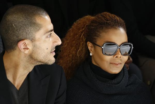 Janet Jackson y Wissam Al Mana (Reuters)