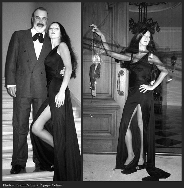 Celine Dion y René Angélil, disfrazados para Halloween 1998