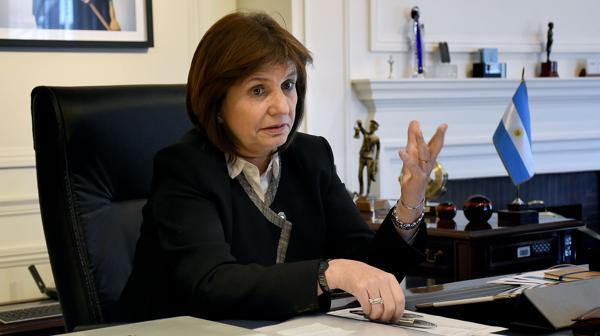"""Patricia Bullrich: """"Va a haber un monitoreo de los refugiados"""" (Foto: Nicolás Stulberg)"""