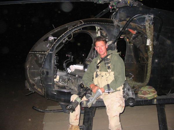 Tiempos de guerra. Billingham fue comando de las SAS durante 27 años