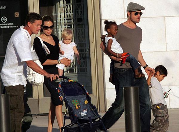 """Billingham con la familia a pleno. Dice que hasta cumplió papeles de """"paternidad"""""""