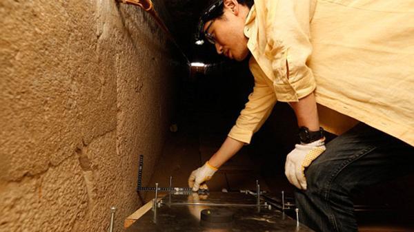 Los científicos realizaron una completa radiografía de la pirámide, por dentro. La presencia de muones determinó que había cavidades ocultas en el monumento (ScanPyramids)