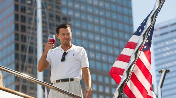 """El actor es una escena de """"El lobo de Wall Street"""""""