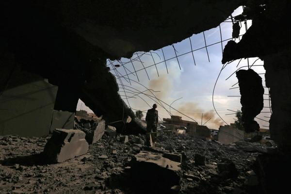 242 personas fueron asesinadas en Mosul por ISIS en un solo día (AFP PHOTO / SAFIN HAMED)